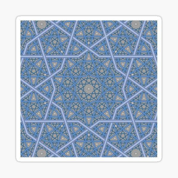 Four Layer Persian King Pattern Sticker