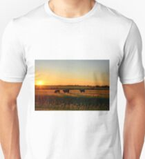 Pasture Sunrise Unisex T-Shirt