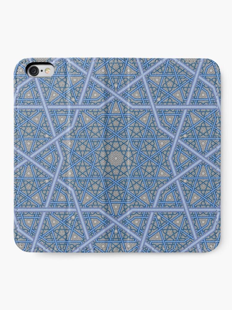 Alternative Ansicht von Vierschichtiges persisches König-Muster iPhone Flip-Case