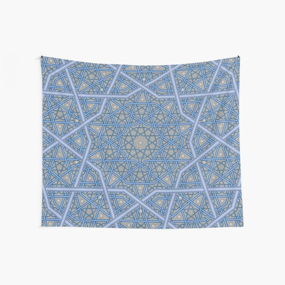 Vierschichtiges persisches König-Muster Wandbehang