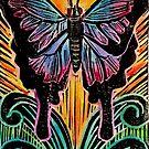 Transmutation Butterfly Print by LisaKSalerno