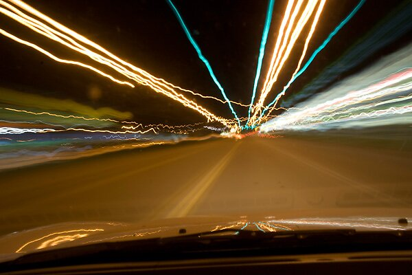 A Nights Drive by Miguel Romo