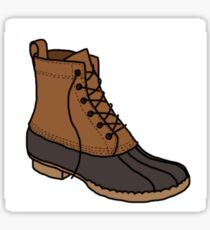 Bean Boot Sticker