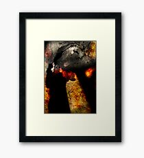 Cave of All Fears Framed Print