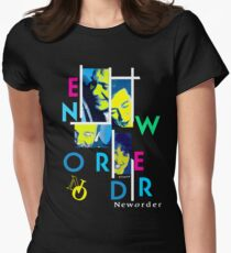 Joy Division New Order shirt Out of Order Womens Fitted T-Shirt