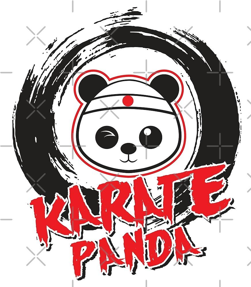 Karate Panda Circle Brush by karatepanda