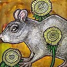 Dandelion and Rat by Lynnette Shelley