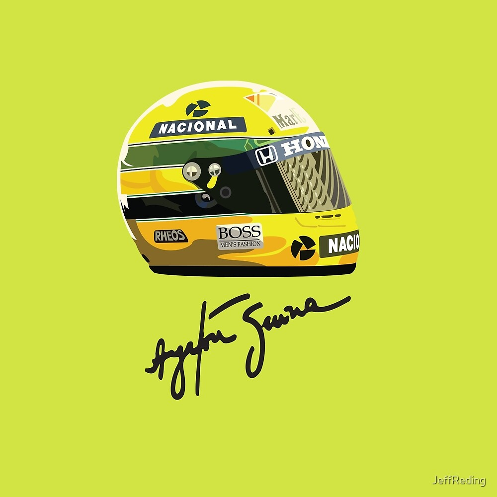 Ayrton Senna tribute by Jeff Reding