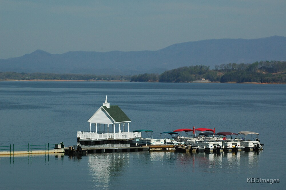 Chapel on the Lake by KBSImages