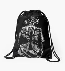 The Woman Drawstring Bag