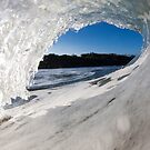 White Water, Blue Sky by Vince Gaeta