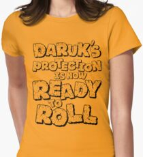 READY 2 ROLL Womens Fitted T-Shirt