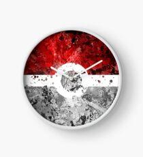 Pokemon Splatter (Lite) Clock