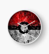 Pokemon Splatter Clock