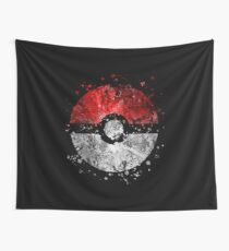Pokemon Splatter Wall Tapestry