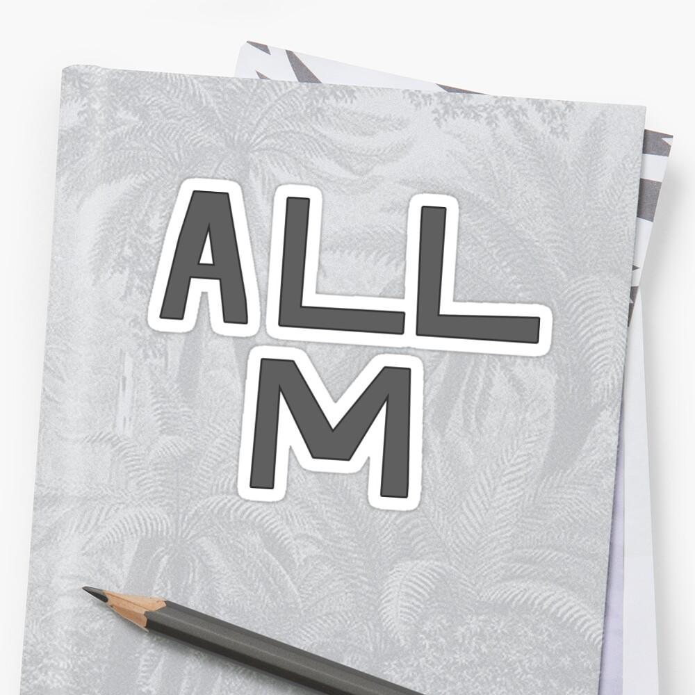 Deku's ALL M Shirt by Jinta Nimara