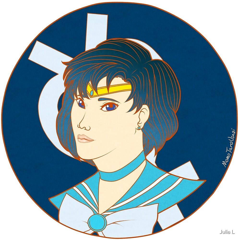 Sailor Mercury by MomoTaroUsagi