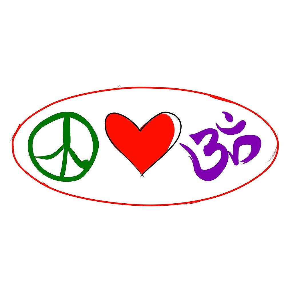 Peace, love, Om by SoulKingu