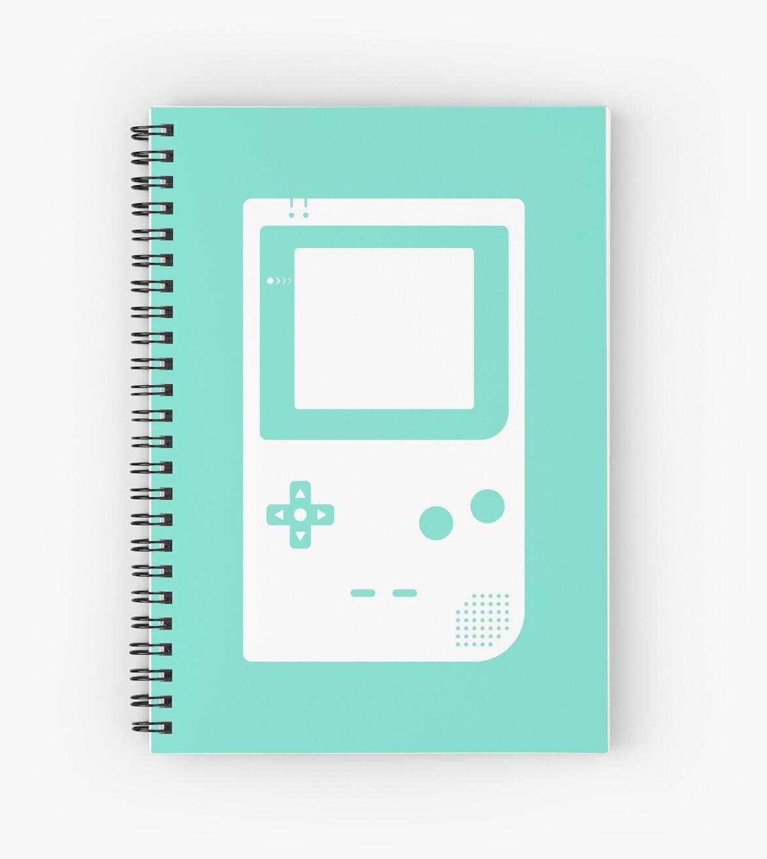 Minimal Gameboy pocket green by animinimal