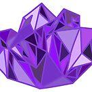 Purple Crystal by Sam Will