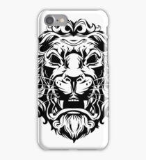 Tribal Black Lion iPhone Case/Skin