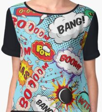 bang bang Women's Chiffon Top