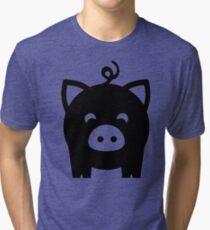 Little Pig Tri-blend T-Shirt