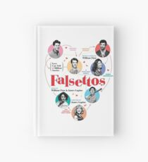 Falsettos 2016 Poster Hardcover Journal