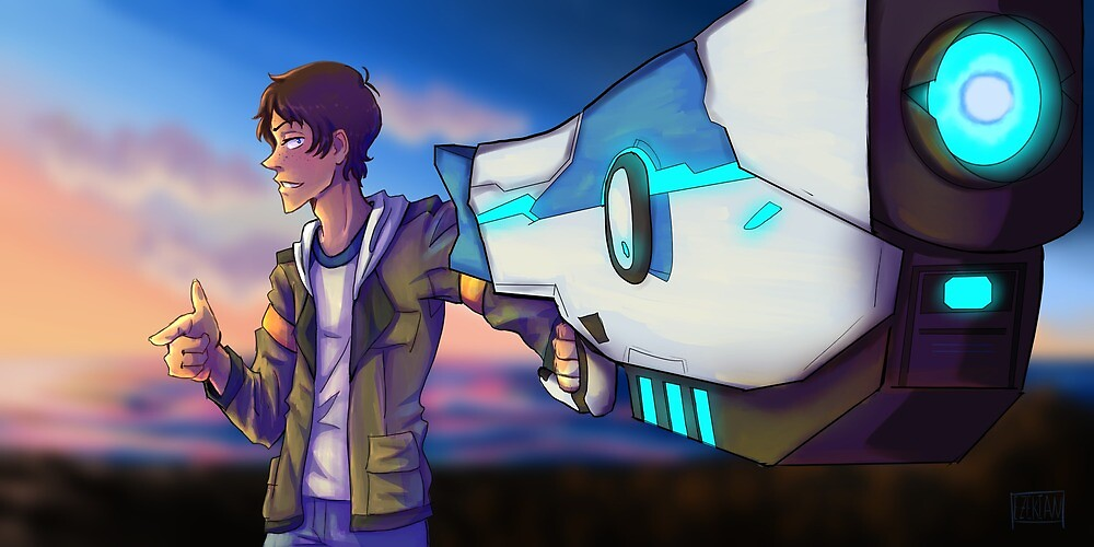 Lance and his Gun by Pan-Cake