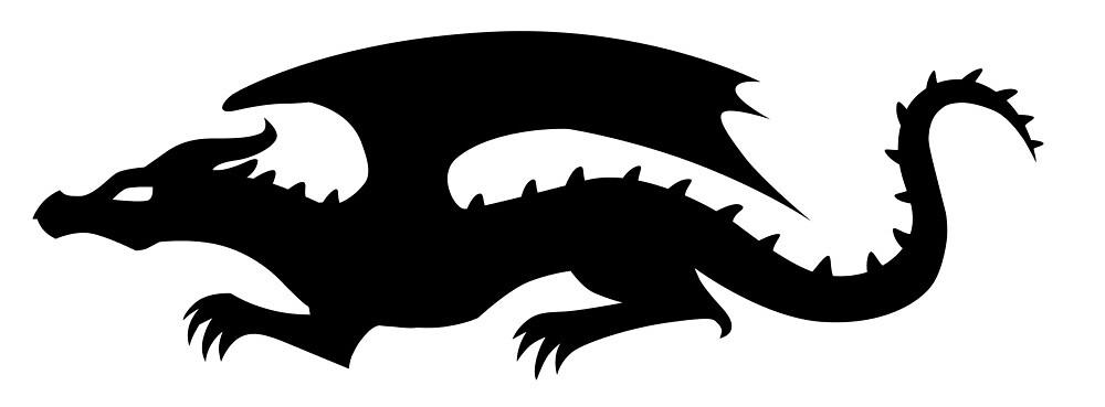 Dragon Symbol by InkRose