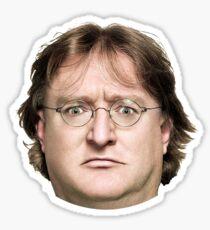 Gabe Newell Sticker