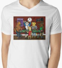 Dogs Playing Pong T-Shirt