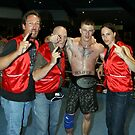 Kickboxing Championship Title Winner by Aaron Blackwell