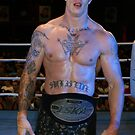 Kickboxing Championship Title Winner #2 by Aaron Blackwell