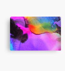 Rainbow Burst Metal Print