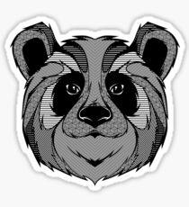 Panda Zentangle Sticker