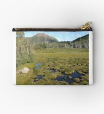 Mount Rogoona from narrow open valley Studio Pouch