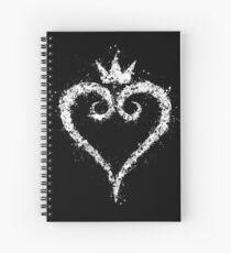 Kingdom hearts  Spiral Notebook