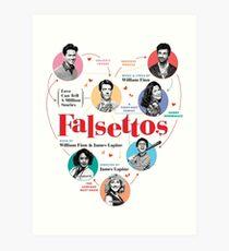 Falsettos 2016 Poster Art Print