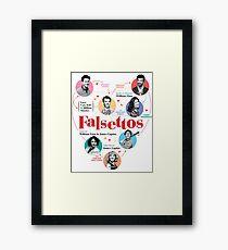 Falsettos 2016 Poster Framed Print