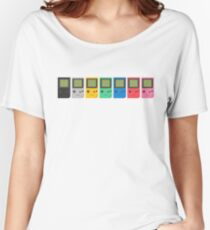 Gameboy Pocket (white) Women's Relaxed Fit T-Shirt