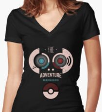 Pokemon Adventure Women's Fitted V-Neck T-Shirt