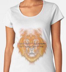 i'm a king T-shirt premium femme