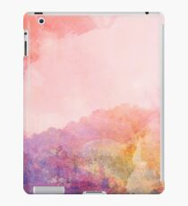 Abstract Landscape—Pink iPad Case/Skin