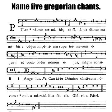Gregorian Chant by riotrainbows