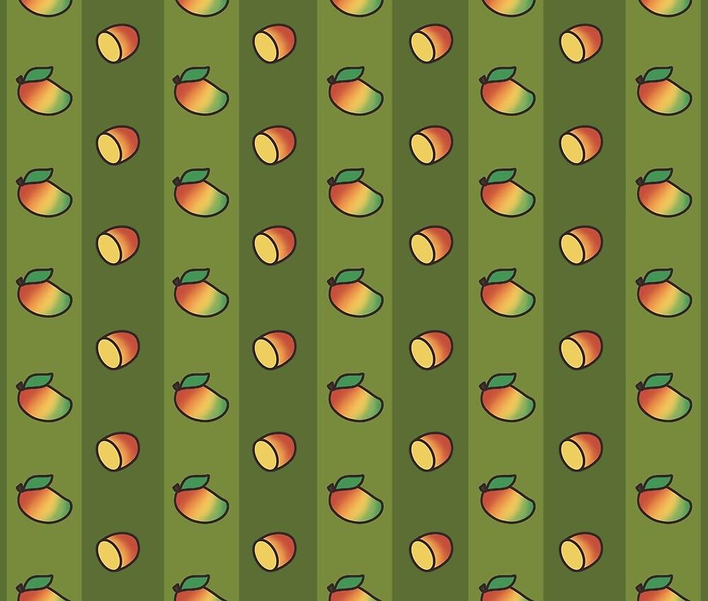 Mango Madness - Green by Kayanna Farmer