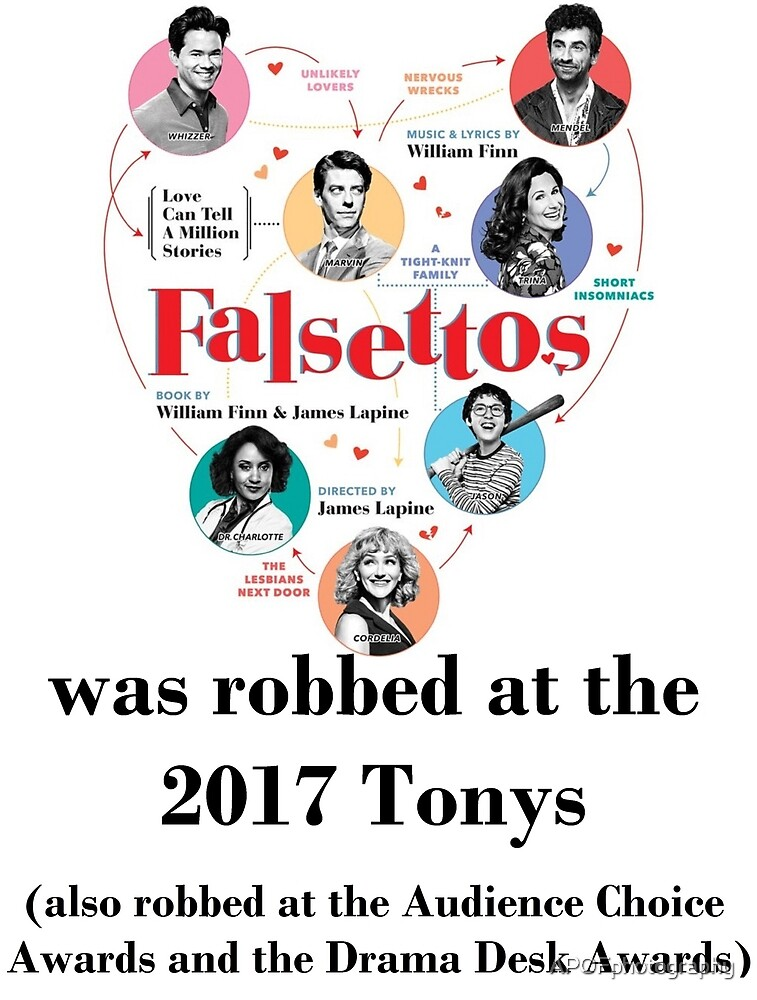 FALSETTOS WAS ROBBED by APOFphotography