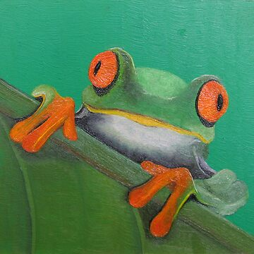 Frog by Jannapiet