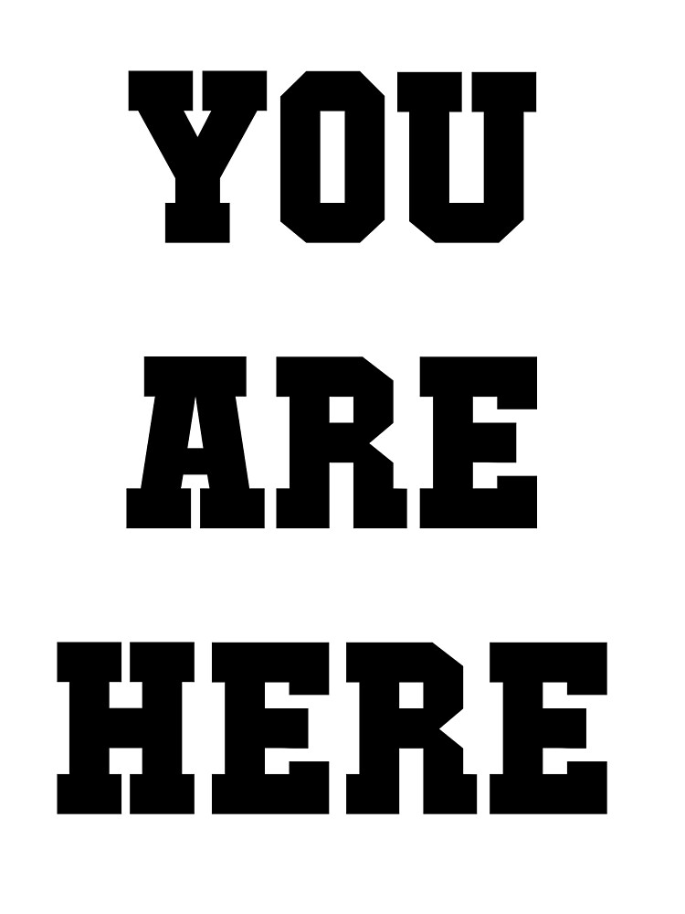 You are here. by wolfhammer