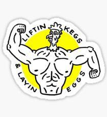 Buff Chicken - Yellow Sticker